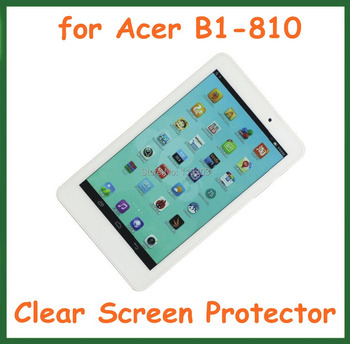 "5pcs Transparent Screen Protector Protective Film for Acer Iconia One 8 B1-810 Tablet PC 8"" No Retail Package Size 209.5x124.5mm"