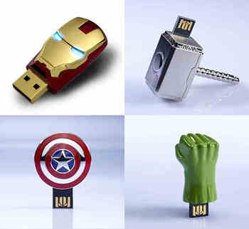 Avengers 7 Stilleri Kaptan Amerika Iron Man USB 2.0 Flash Sürücüler Pendrive Flash Kart Memory Stick Pen Drive 64 GB 128 GB 512 GB Hediye