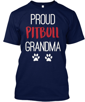 Tagless gurur Pitbull Büyükanne I Love My Dog-Hanes Tee T-Shirt
