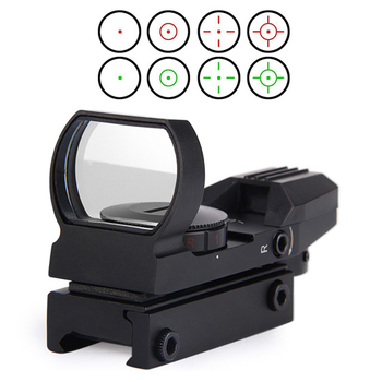 Yeni Ray Riflescope Avcılık Airsoft Optik Kapsam Holografik Red Dot Sight Refleks 4 Reticle Taktik Tabanca Aksesuarları
